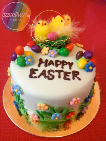 These cute Easter cakes are a fun alternative to Easter eggs.