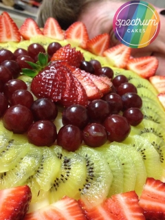 I have a soft spot for a beautifully displayed fruit flan, with a light vanilla creme patissiere.